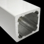 Reinforced Extruded Aluminum Square Bar
