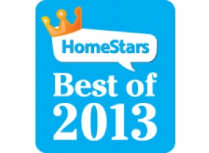 Rolltec® Wins BEST OF 2013 in the Awnings and Canopies category as voted by HomeStars.com
