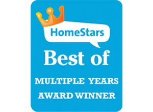 Awnings by ROLLTEC® wins 2018 Best of HomeStars Award