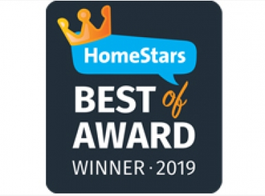 Awnings by ROLLTEC® wins 2019 Best of HomeStars Award