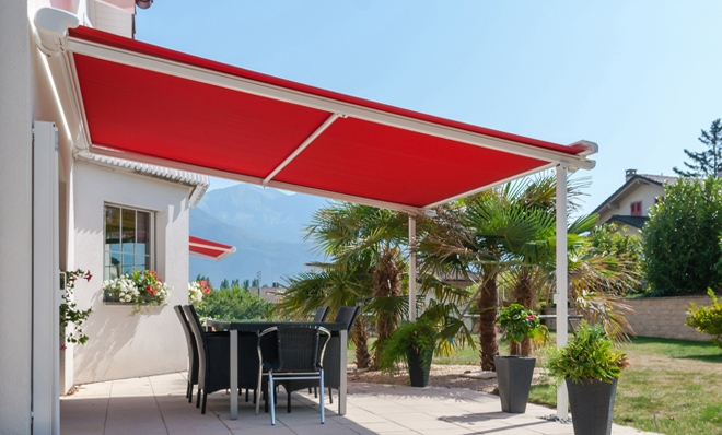 Rolling Pergola Rolltec 174 Retractable Awnings Toronto