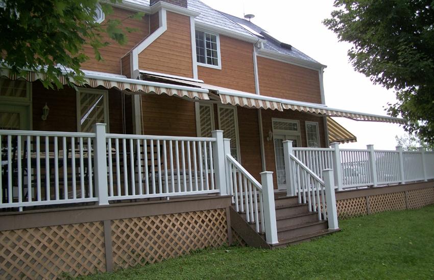 Farm House Rolltec 174 Retractable Awnings Toronto