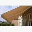 Beige awning