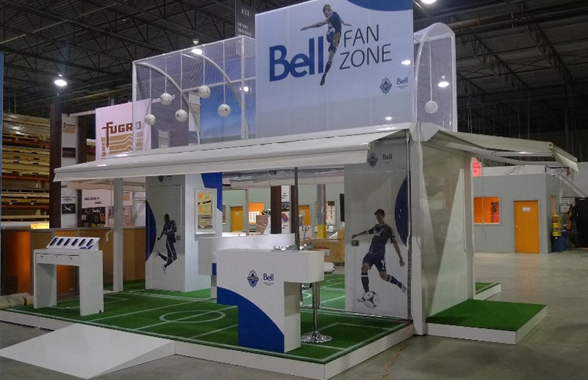 Bell Canada Booth By Aura Xm Rolltec 174 Retractable