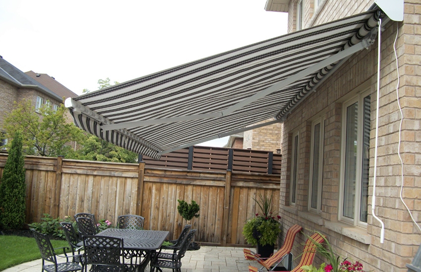Two Adalia X3m S Rolltec 174 Retractable Awnings Toronto