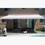 Bright awning by the pool