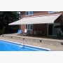 Multi-toned brown Physique XL awning